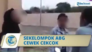 Viral Video Sekelompok ABG Saling Cekcok di Ponorogo, Diduga karena Berebut Pacar
