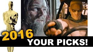 Oscars 2016 Winners - Audience Vote & Reaction - Beyond The Trailer