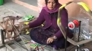 Pashmina shawl - A traditional way of making in Kashmir