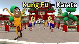 MY JOKE OF - KUNG FU KARATE ( कुंग फु कराटे NEW FUNNY COMEDY VIDEO ) - KADDU JOKE