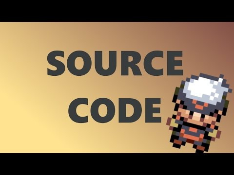Programming Pokemon: Source code avalable