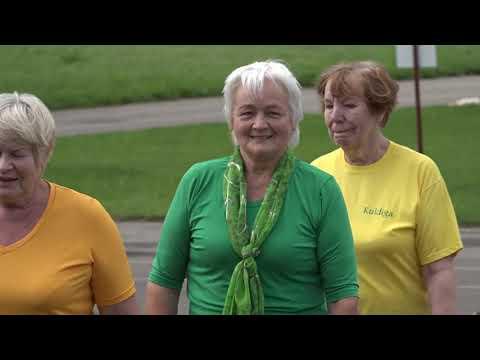 Veselības un sporta diena senioriem Kuldīgā