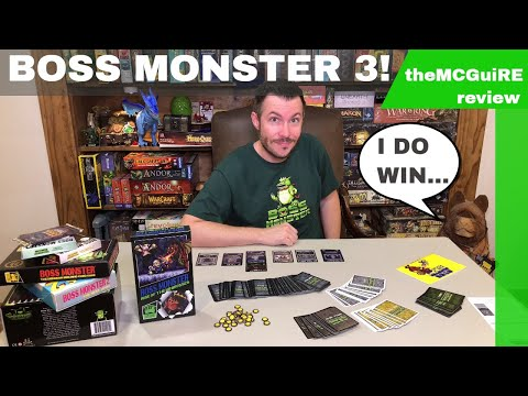 theMCGuiRE review looks at BOSS MONSTER 3: RISE OF THE MINIBOSSES