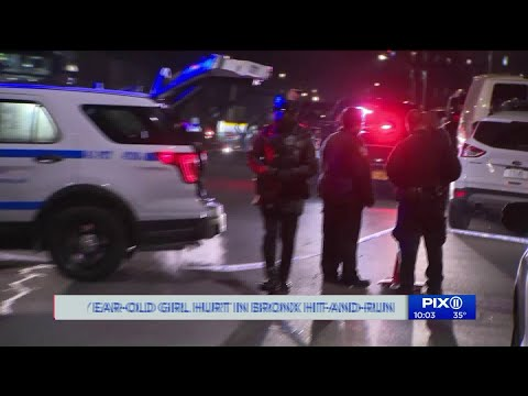 6-year-old girl struck by hit-and-run driver in the Bronx