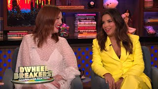 Marriage Deal Breakers For Julianne Moore & Eva Longoria | WWHL
