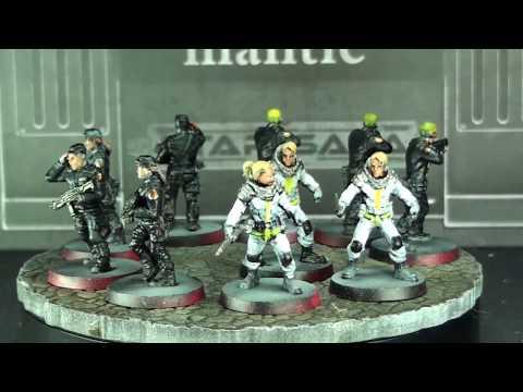Star Saga - Kickstarter Wave 1 Painted Minis