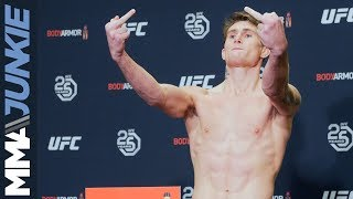 UFC 228 official weigh in highlight