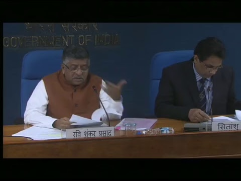 Cabinet Briefing by Union Minister Ravi Shankar Prasad