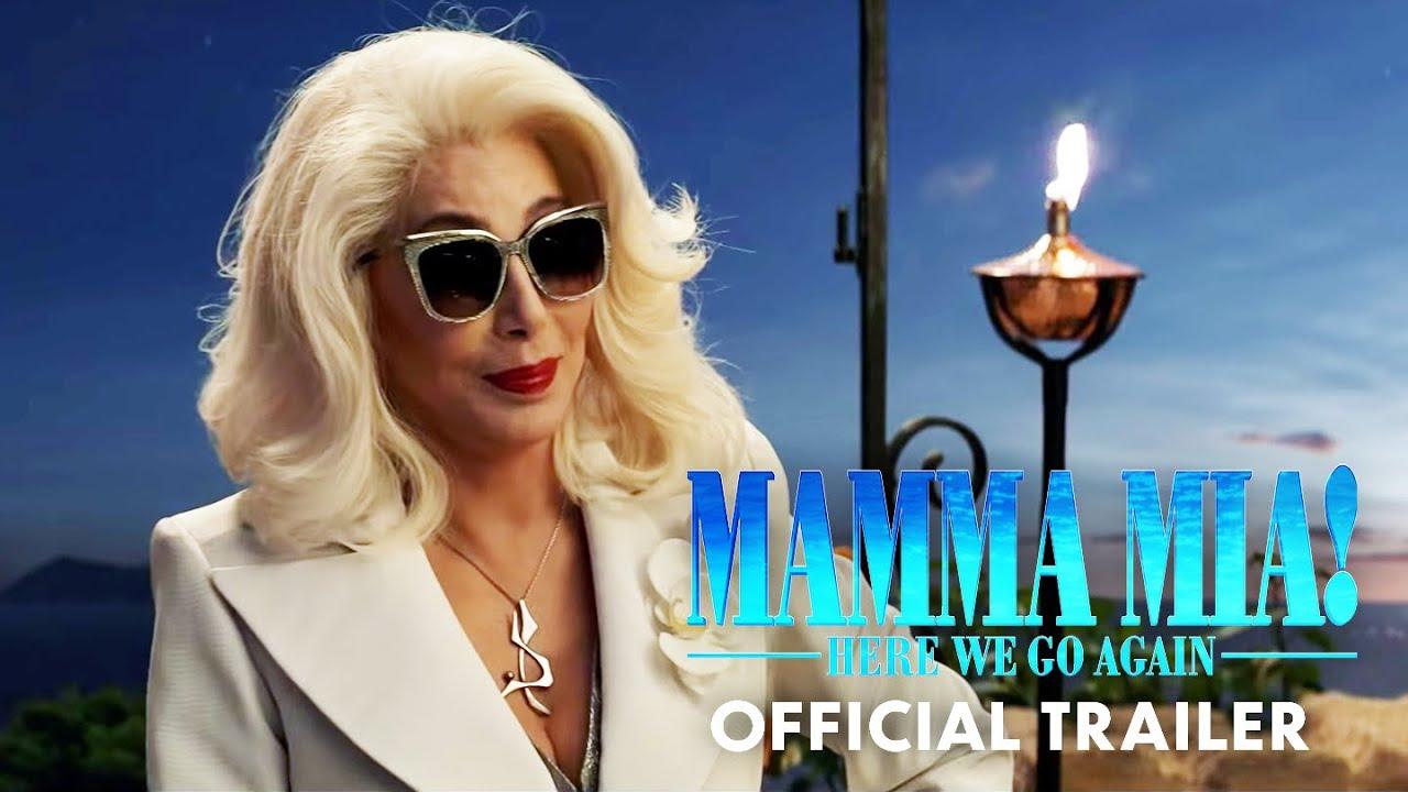 >Mamma Mia! Here We Go Again - Trailer