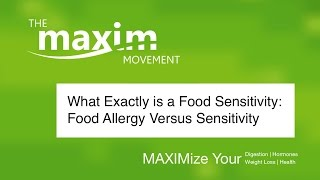 Food Sensitivities Versus Food Allergies