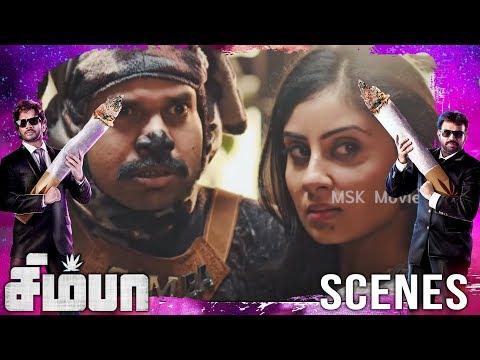 Deepak beats simba as he ate shoe | Simba(சிம்பா) Movie Scenes | Bharath, Premgi