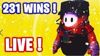 🔴 HELLO ! GO TOP 1 SUR FALL GUYS  !  ✌ I 231 WINS 🏆 / LVL MAX ✅ (En direct)