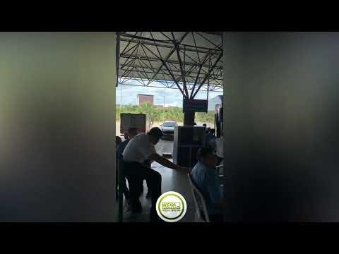Passageiro passa mal e morre dentro de ônibus da Guanabara, no interior do Ceará; veja vídeo