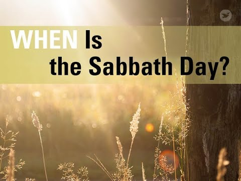 Apakah hari Minggu adalah hari Sabat? Tidak, hari Sabat adalah hari Sabtu. Dalam video ini, kita akan membahas kapan hari Sabat dan mengapa banyak orang Kristen beribadah pada hari Minggu.