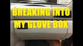 BREAKING INTO MY GLOVE BOX!!!