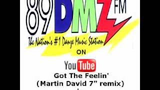 "89 DMZ Got the Feelin' (Martin David 7"" remix) by Five"