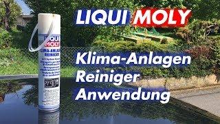 Klimaanlage desinfizieren - Liqui Moly Klimareiniger Anwendung / Test