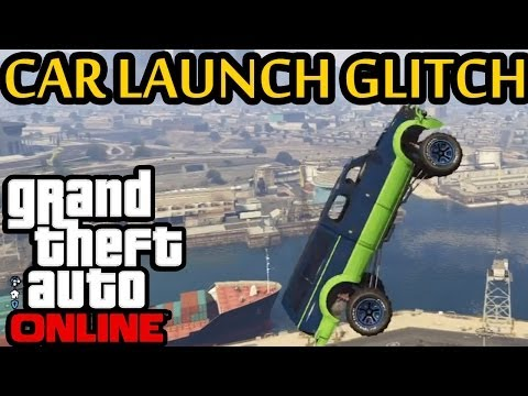 ★ GTA 5 - NEW Car Launch Glitch! Like GTA 4 Swingset Glitch!