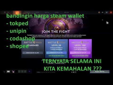 #KISMINTUTORIAL Bandingin \ Cara Beli Battle Pass 2019 dota 2  termurah se indonesia