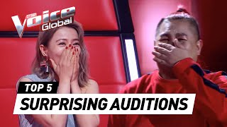 Gambar cover The Voice | MOST SURPRISING Blind Auditions worldwide [PART 4]