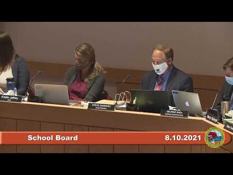 8.10.2021 School Board