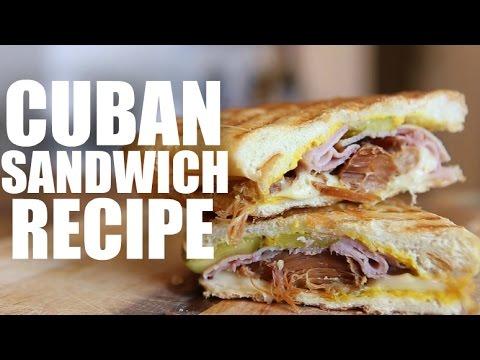 Cubano Sandwich – pork sandwich recipe – pork shoulder – grilled sandwich – chef movie