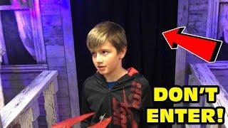 Kid Temper Tantrum Returns To Spirit Halloween Store And Got LOST! [ Original ]
