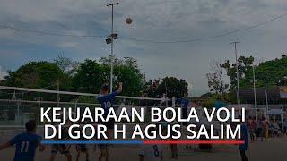 Berlangsung saat Pandemi Kejuaraan Bola Voli Wali Kota Padang Cup U-22 Ikuti Prokes