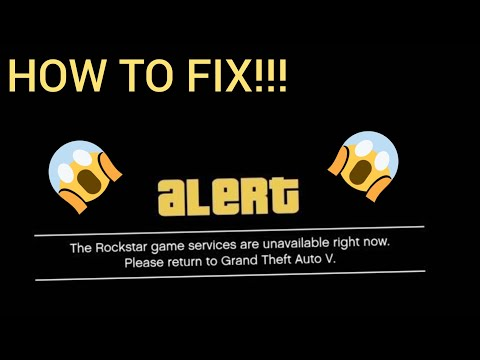Download Gta 5 How To Fix The Rockstar Servers Are Unavailable Video