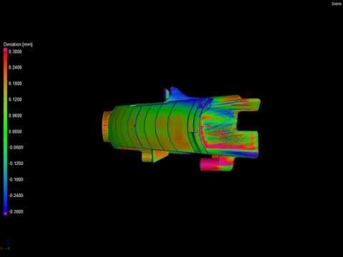 Detales gamybos kokybės vertinimas pagal jos CAD modelį