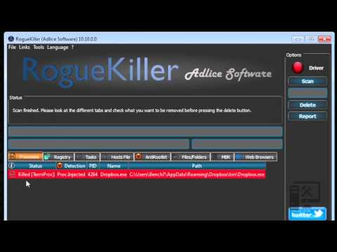 RogueKiller tutorial