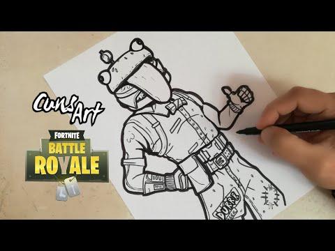 Dibujo Fortnite Facil