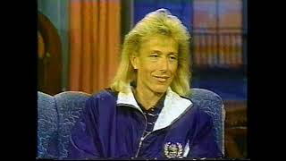 Martina Navratilova - Interview - Later 11/8/90 - Chris Evert Feud