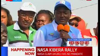 NASA Deputy presidential candidate Kalonzo Musyoka's full speech at Kibra