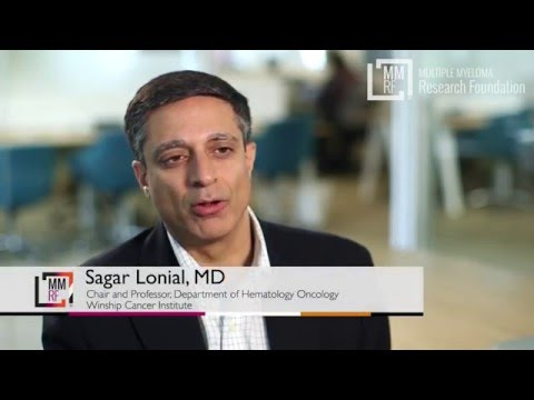 Dr. Sagar Lonial interviewed at the 2016 MMRF CoMMpass Data Jamboree