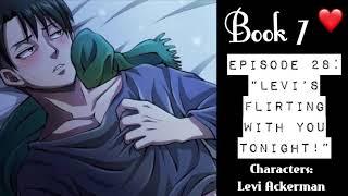 "(Levi Ackerman X Listener) ROLEPLAY ""Levi's Flirting With You Tonight!"""