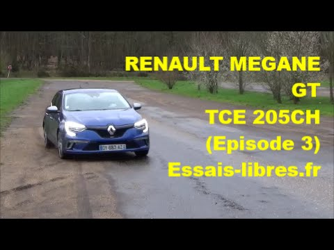 RENAULT MEGANE 1.6 TCe 205ch energy GT EDC