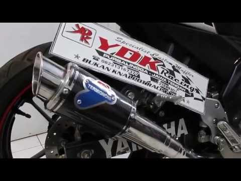 YDK RACING SOUND KNALPOT TERMIGNONI NEW VIXION / NVL SUARA NINJA 250