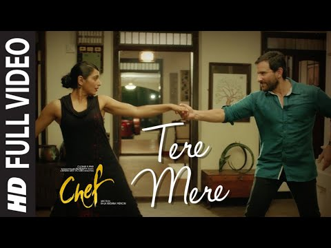 Full Video:  Tere Mere Song | Chef | Saif Ali Khan | Amaal Mallik feat. Armaan Malik | T-Series