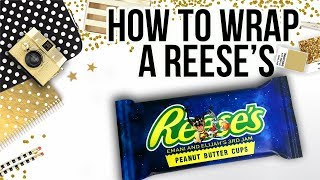 Candy Bar Wrapper Tutorial: Reeses