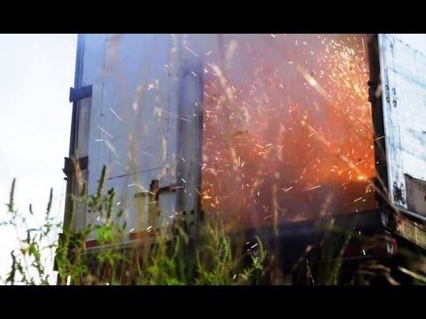 Fireworks! Big Rig Delivery Challenge | Top Gear USA
