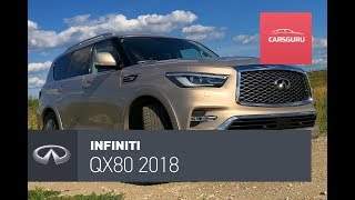 Infiniti QX80 2018. Уважаемый носорог.