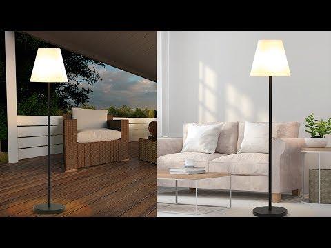 EASYmaxx Solar-Standleuchte - Out-& Indoor - schwarz
