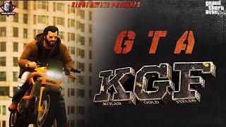 KGF-BIKE FIGHT SCENE(Remake In GTA 5 )|Hindi | Yash | Srinidhi | Latest GTA Video 2020