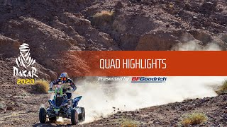 Dakar 2020 - Highlights Quad