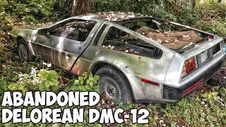 Abandoned DeLorean DMC-12 around the world. Abandoned cars from the movie