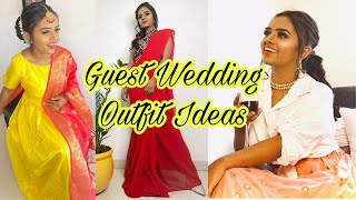 Indian Wedding Guest Outfit Ideas | Styling Video | Thebrowndaughter