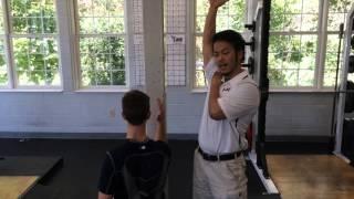 【壁があればOK!】肩甲骨の動きを改善するウォールスライド