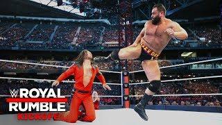 WWE Royal Rumble Kickoff: NUEVO Campeón de los Estados Unidos; Regresa Halftime Heat el próximo domi