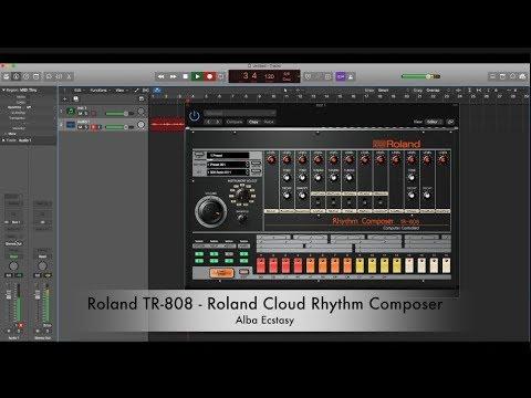 roland tr808 rythm composer drum machine pc mac vst en mercado libre. Black Bedroom Furniture Sets. Home Design Ideas